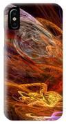 Fractal - Rise Of The Phoenix IPhone Case