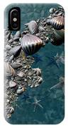 Fractal Sea Life IPhone Case