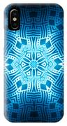 Fractal Snowflake Pattern 2 IPhone Case