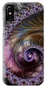 Fractal Spiral 2 - A Fractal Abstract IPhone Case