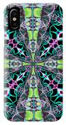 Fractalscope 24 IPhone Case