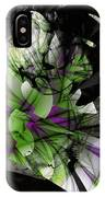 Fractured Bloom  IPhone Case