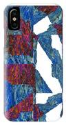Fractured Overlay Iv IPhone Case