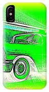 In Your Future I Can See Fragments Of An Old Car Called Bel Air  IPhone Case
