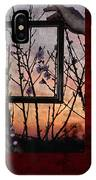 Framed Cherry Blossoms - Featured In Comfortable Art And Nature Groups IPhone Case
