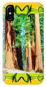 Framed Sequoias IPhone Case