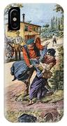 France Gypsies, 1890s IPhone Case