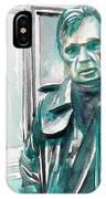 Francis Bacon Watercolor Portrait.3 IPhone Case