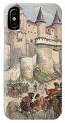 Francis I Held Prisoner In A Tower IPhone Case