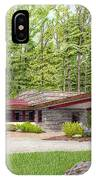 Frank Lloyd Wright At Duncan House IPhone Case