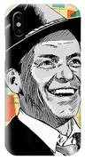 Frank Sinatra Pop Art IPhone Case