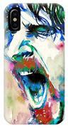 Frank Zappa  Portrait.4 IPhone X Case