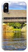 Frankenmuth Covered Bridge IPhone Case