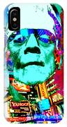 Frankenstein Visits Times Square IPhone Case