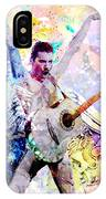 Freddie Mercury - Queen Original Painting Print IPhone Case