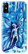 Free As Winter Snow IPhone Case