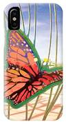 Free Butterfly Fly IPhone Case