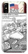 Free Trade Trap IPhone X Case