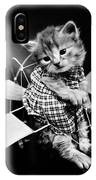Frees Kittens, C1914 IPhone Case