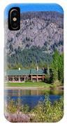 Freestone Inn Lakeside View IPhone Case