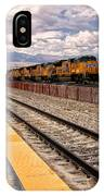 Freight Expectations Palm Springs IPhone Case