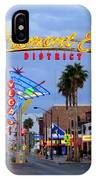 Fremont East District IPhone Case