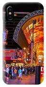Fremont Street Lights 2 IPhone Case
