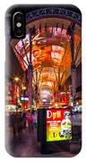 Fremont Street Lights 3 IPhone Case
