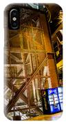 Fremont Street Structure IPhone Case
