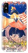 French Bar Ad 1890 IPhone Case