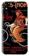 French Bicycles IPhone Case