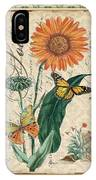 French Botanical Damask-a IPhone Case