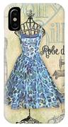 French Dress Shop-b IPhone Case
