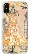French Dress Shop-c IPhone Case