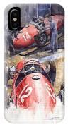 French Gp 1952 Ferrari 500 F2 IPhone Case