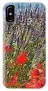 French Lavender Field IPhone Case