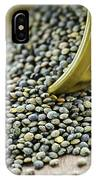 French Lentils IPhone Case