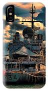 French Naval Frigate IPhone Case
