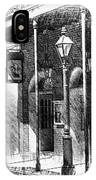 French Quarter Street Lamp IPhone Case