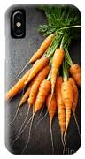 Fresh Carrots IPhone Case