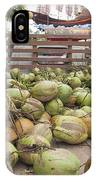 Fresh Coconuts Delivery Truck IPhone Case