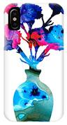 Fresh Cut - Vibrant Flowers Floral Painting IPhone Case