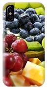Fresh Fruits And Cheese IPhone Case