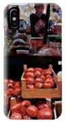 Fresh Fruits And Vegetables IPhone Case