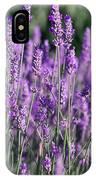 Fresh Lavender  IPhone Case