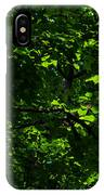 Fresh Linden Tree Foliage - Featured 2 IPhone Case