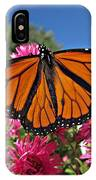 Fresh Monarch Butterfly IPhone Case