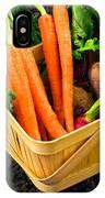 Fresh Picked Healthy Garden Vegetables IPhone Case