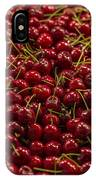 Fresh Red Cherries IPhone Case