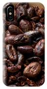 Fresh Roasted Cocoa Beans - Nibs IPhone Case